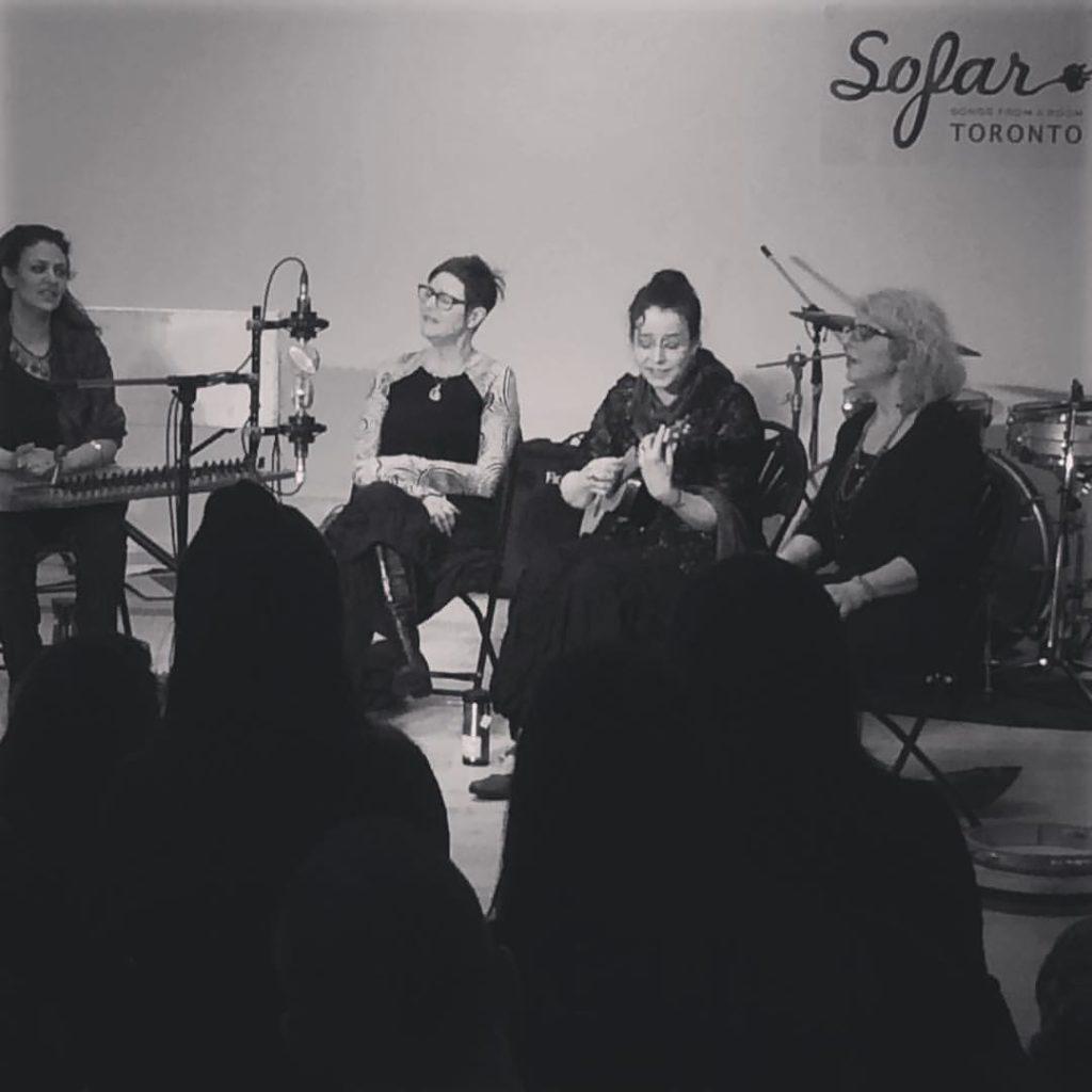 Turkwaz at Sofar Sounds Toronto - photo by Derek Andrews